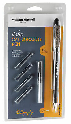 William Mitchell Calligraphy SCRIPT DIP PENS momoline unshaded nib gift set