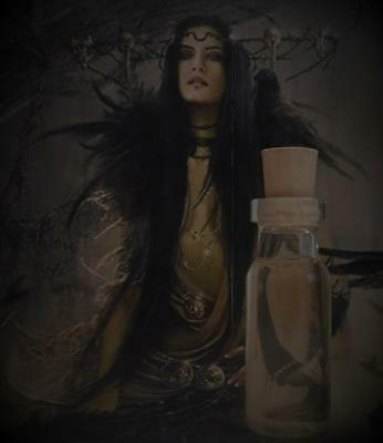 HECATE Goddess Ritual Oil Potion Anointing Oil ~Wicca Witchcraft Pagan