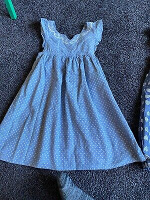 The Little White Company Girls  Dress Age 4-5