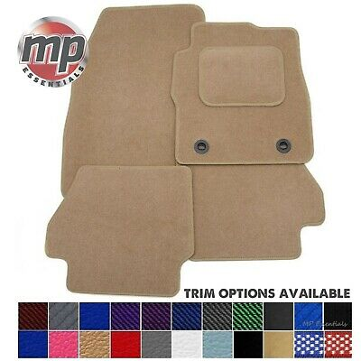 Tailored Perfectly for BMW 7 Series LWB (F02) 09-16 Beige Carpet Car Floor Mats