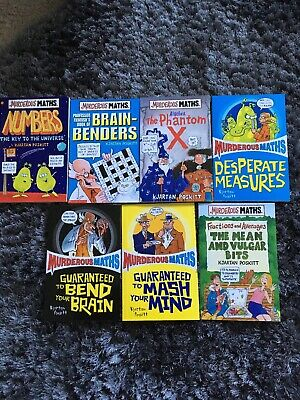 Murderous Maths Book Set Of 7
