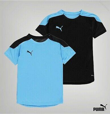 Boys Girls Puma Crew Neck DryCELL Training Football Top Sizes from 7 to 13