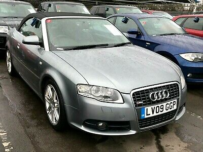 2009 Audi A4 Cabriolet 2.0 Tdi Final Edition-Convertible, Leather, Nav, Fabulous