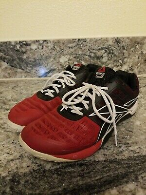 REEBOK Mens Crossfit Nano 3.0 Cross-Training Sneaker V47094 - Red Black - SZ 11