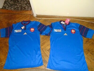7-16yrs Official Adidas Rugby World Cup 2015 F.I.R Italia Junior Jersey Size