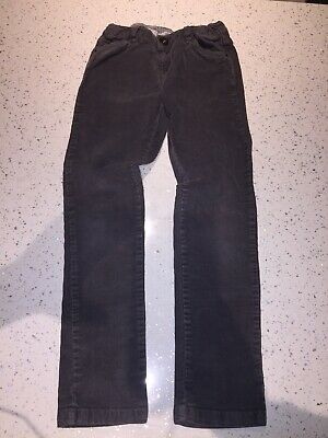 Zara Kids Girls Grey Cotton Corduroy Trousers Age 5-6 EXC