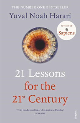 Yuval Noah Harari-21 Lessons For The 21St Century BOOK NEW