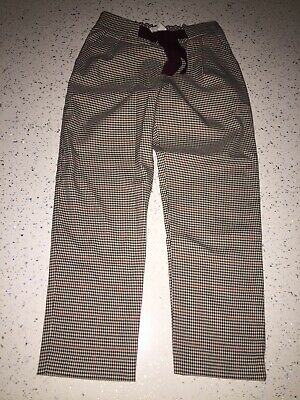 ZARA GIRLS SOFT TAILORED CHECKED TROUSERS Age 8