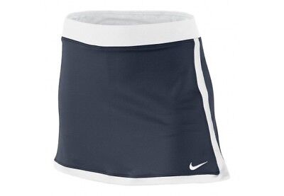 Nike Tennis Girls Border Navy Blue & White Skort Size XL 13-15 Years RRP £27