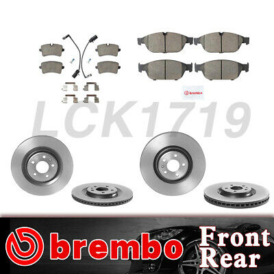 P85098N Audi A6 Quattro Front and Rear Disc Brake Pads Kit Brembo P85118N