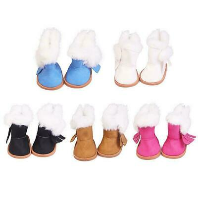 Winter Glitter Doll Shoes For 18 Inch Doll Accessory Toy Girl V4A3