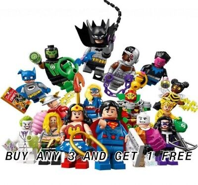 Lego Dc Comics Minifigures 71026 Buy Any 3 Get 1 Free Pick Your Own  N/Unopened