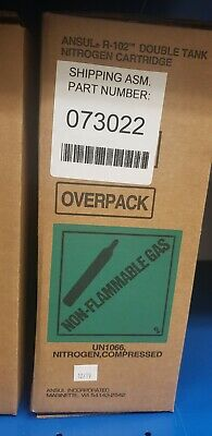 ANSUL R-102 Double Tank Cartridge For Fire Suppression #73022 -  Brand New