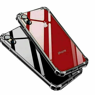 For iPhone 11 Case Shock Proof Crystal Clear Soft Silicone Gel Bumper Cover Slim