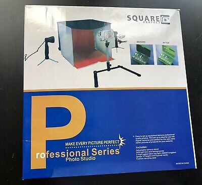 Square Perfect Folding Photo Box Tent Light Table Top Photography Studio Cube