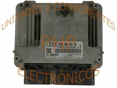 ECU Bosch 0281014123 - Gruppe VAG - 03G906021RE
