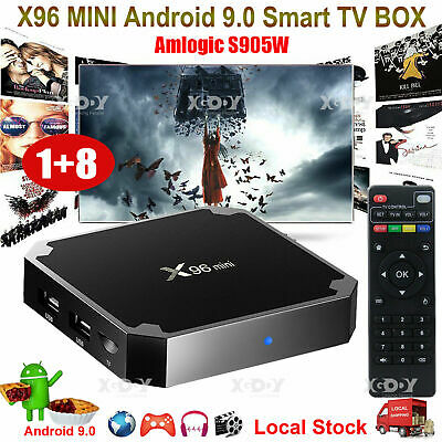 NEW Android 9.0 Pie 4K Quad Core Smart TV BOX WIFI 2+16G HDR10 Network Streamer