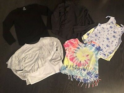 Girls Bundle Of Next, H&M, Justice, Zara Clothes Age 5