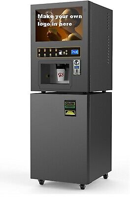 lot of 24 Coffee vending machine GTS204 Coin&Note operated auto drink dispenser