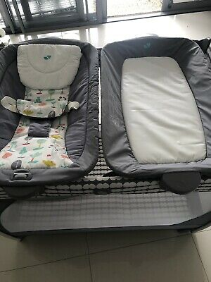 Joie portacot rock and travel cot - still like new paid $400
