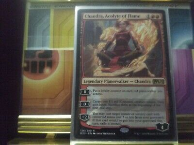 """Magic the Gathering TCG Core Set 2020 RARE """"Chandra, Acolyte of Flame"""" NM Cond"""