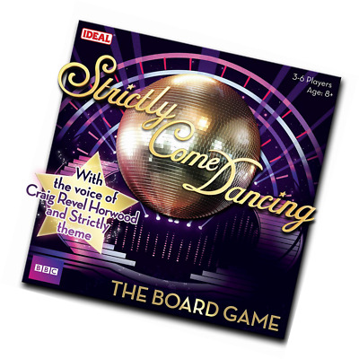 John Adams Strictly Come Dancing Board Game from Ideal, Multicolour.