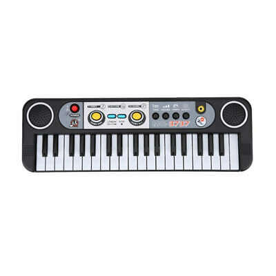 37 Keys Kid Organ Electric Piano Digital Music Electronic Keyboard Musical  Q7I1