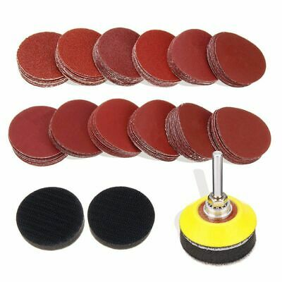 """2/"""" Sanding Discs Holder with 1//4/'/' Shank For Rotary Tool Roloc Discs Pad/_TI"""