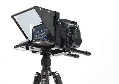 "7"" Screen Teleprompter for iPhone/PC/Android Smartphone DSLR Video- High quality"