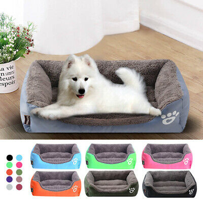 Pet Dog Cat Bed Puppy Cushion House Warm Soft Kennel Mat Blanket Washable Kitten