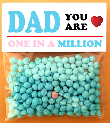 Step-dad You/'re One In A Million Novelty Gift Apple Flavour 40g Fathers Day