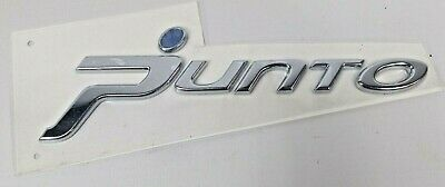 Genuine New FIAT D WING BADGE Fender Side Emblem Punto Mk1 1993-1997 Diesel 1.7