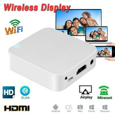 WiFi HD Wireless Display AV HDMI Dongle Adapter Miracast Airplay DLNA Receiver