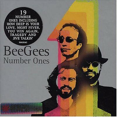 Bee Gees - Number Ones - Bee Gees CD 0QVG The Cheap Fast Free Post