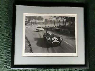 Mike Hawthorn Le Mans 1955 Limited Edition print by Roy Nockolds