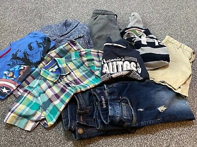 Boys Clothing Bundle Age 10 11 12 Jeans Ted Baker 9 Items