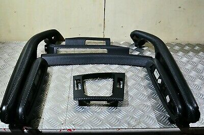 Full Set OEM BMW E46 Coupe RHD 3 Series Black Carbon Interior Trims, Great Cond.