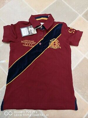 Joules Burghley Horse Trials Polo Shirt Age 4 Years