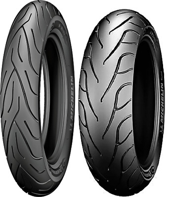 Michelin Commander Ii 100/90-19 Front/Rear 130/90B16 Tires Harley Fxr Fxrs Fxe