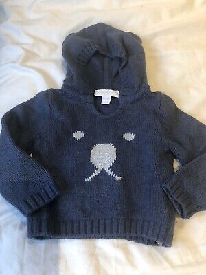 The Little White Company Baby Boys Jumper 0-3 Months