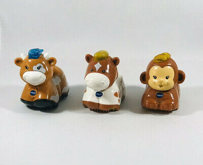 VTech Toot Toot Animals - Cow, Horse & Monkey