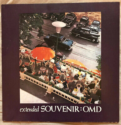Orchestral Manoeuvres In The Dark - Souvenir 10'' Single 1981 Vg+