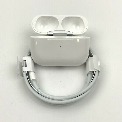 Authentic Apple Airpods Pro CHARGING CASE AND POWER CABLE ONLY - MWP22AM/A