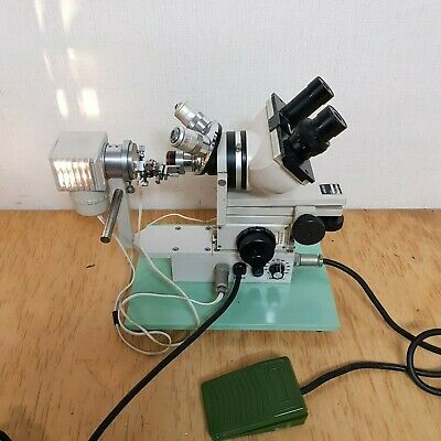 Narishige Microforge Mf-9 Microscope With Foot Switch &Heater