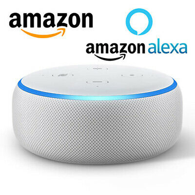 Amazon Echo Dot 3 Generazione Nero Altoparlante Intelligente Con Alexa