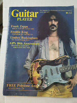 Vintage Guitar Player Magazine January 1977 Frank Zappa Cover