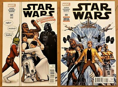 STAR WARS #4 VARIANT COVER TOY CHEWBACCA MARVEL VF//NM CB546