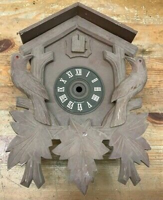 German Black Forest Cuckoo clock Hand Carved 3 Day Housing Box Only!