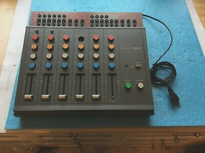 Vintage Analog Tascam MM-20 Keyboard Mixer Mischpult Microphone Recording System