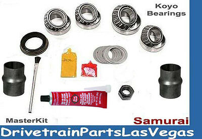 NEW SUZUKI SAMURAI MANUAL TRANSMISSION REBUILD OVERHAUL KIT W RINGS 4X4 5-SPD
